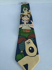 WALLACE & GROMIT - The Wrong Trousers - Mad Dogs & Englishmen - 100% Silk Tie
