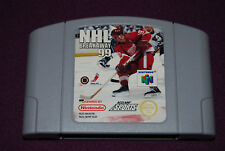 NHL BREAKAWAY 99 - Iguana/Acclaim - Jeu Hockey Nintendo 64 N64 PAL EUR