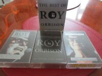 BEST OF ROY ORBISON CASSETTES x3 BOX SET 1 TAPE VERY RARE.FREE POSTAGE