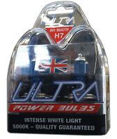 2 H7 Ultra Power Bright 5000k Xenon Gas White Car Front Headlight Headlamp Bulbs
