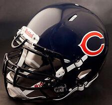 *CUSTOM* CHICAGO BEARS NFL Riddell Full Size SPEED Football Helmet