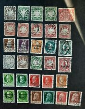 Collection of used Bayern- Bavaria stamps