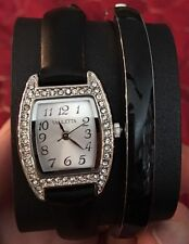Mothers Day Gift Valletta Crystal Women's Quartz Watch With Matching Bangle
