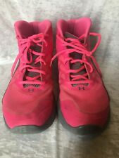 UNDER ARMOUR Spine Shoes Sneakers Mens US 10.5 Pink gray Rare