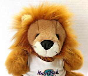Hard Rock Cafe Houston Texas Lion Hand Puppet Plush Stuffed Toy Jungle Safari