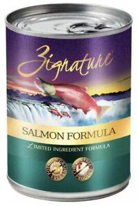 Zignature Salmon Formula Grain-Free Wet Dog Food 13oz, case of 12 C1