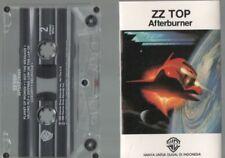 ZZ TOP indonesian BALI Cassette AFTERBURNER 1985 Warner 10 tracks