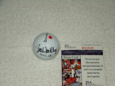 Boo Weekley Hand Signed *His Used* TaylorMade Golf Ball Autograph JSA #R92520