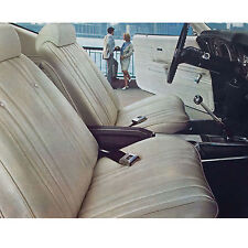1969 69 CHEVELLE EL CAMINO  MALIBU PARCHMENT BUCKET SEAT COVERS PUI