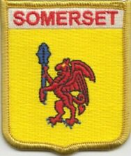 Somerset County Flag Embroidered Patch Badge LAST FEW