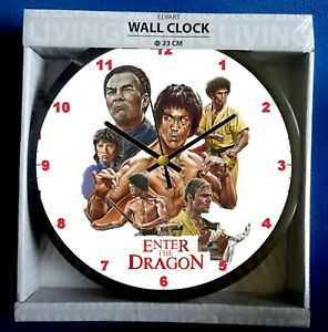 Enter The Dragon Wall Clock