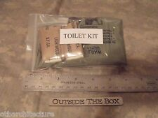 Emergency/Survival Personal Hygiene Kit:  Supplemental TOILET KIT!  Wag Bag Kit