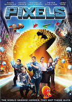 Pixels (DVD) ADAM SANDLER Brand New sealed ships NEXT DAY with tracking