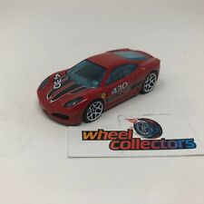Ferrari F430 Challenger * Hot Wheels LOOSE 1:64 Diorama * F1705
