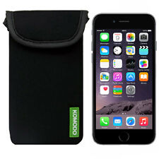 Komodo Neopreno Bolsa Funda Para Apple Iphone 6 calcetín Bolsillo Funda Protectora Skin Uk