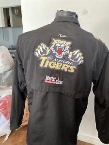 MENS Small Hockey Jacket Aurora Tigers #90 OJHL