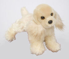 "New White Chocolate Cocker Spaniel Plush 12"" Douglas 1928 DISCONTINUED BY MFG"