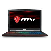 MSI 15.6 IPS Intel HexaCore i7-8750H 256GB SSD+1TB HDD 16GB RAM GTX 1060 6GB