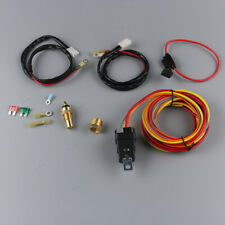 Fit for Single or Dual Fans Cooling Fan 180 Degree 40amp Electric Fan Relay Kits