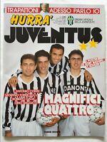 HURRA' JUVENTUS N. 12 DICEMBRE 1992 + POSTER ROBERTO BAGGIO E KOHLER PELE'