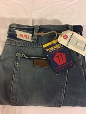 Mens New Wrangler 77 36X30 Low Waist Boot Cut Slim Fit Jeans 77MWZVB