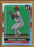 Odubel Herrera 2016 Donruss Career Stat Line Parallel serial #'d /297 Phillies