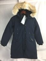 NEW CANADA GOOSE KENSINGTON PARKA ADMIRAL WOMENS 2506L DOWN COYOTE AUTHENTIC
