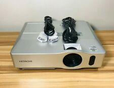 HITACHI CP-X300 PROJECTOR TESTED! WORKING! LAMP HOURS 657H FILTER TIME 483H