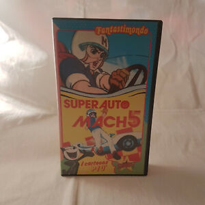 Super Auto Mach 5 - Stardust - Anime - VHS - Vintage - Colore - 30min - Rara!!!