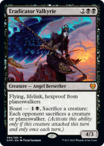 Eradicator Valkyrie x1 Magic the Gathering 1x Kaldheim mtg card