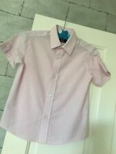 Boys Formal Dress Shirt Age 2 Years Pale Pink Check Duck & Dodge