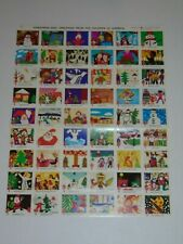 US 1975 CHRISTMAS SEALS FULL SHEET MINT NEVER HINGED