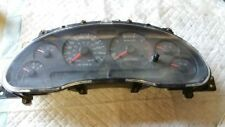 01 02 FORD MUSTANG SPEEDOMETER CLUSTER MPH 3.8L THRU 06/27/02 635
