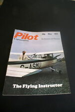 May Aircraft Pilot Monthly Transportation Magazines