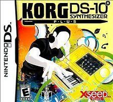 NEW KORG DS-10 Plus  (Nintendo DS, 2010)