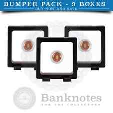 X3 New Magic Floating Display Frame 3D Capsule Coin Holder Rocks Mineral Stamps
