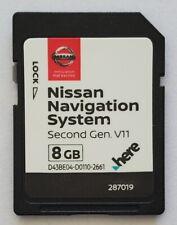 Navigation SD CARD Nissan Second Gen 2019 v11 - North America (Q4.2018)
