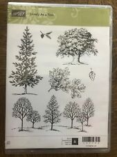 Stampin Up retired, LOVELY AS A TREE cm stamp set