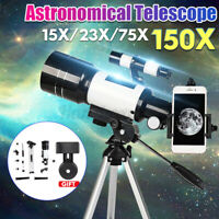 300mm x 70mm Professional  Reflector Astronomical Telescope + Adjustable Tripod