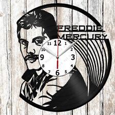 Freddie Mercury Vinyl Wall Clock Made of Vinyl Record Original gift 2622