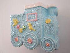 VTG Inarco Baby Planter Train Engine Vase Railroad Car CB2014 Floral Centerpiece