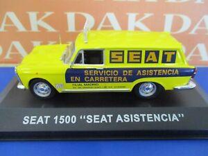 Die cast 1/43 Modellino Auto Seat (Fiat) 1500 Furgonata Assistenza