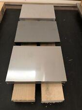 48,67 €//m Aluminium Blech 6 mm 300x250mm Alu AlMg3 Platte Blende Leiste