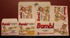 (2) 1979 FIGURINE PANINI WALT DISNEY BAMBI STICKERS EMPTY STICKER BOX 332-9747