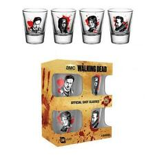 The Walking Dead 4pk Shot Glass Set CH Official Merchandise