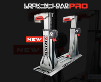 RISK RACING LOCK N LOAD PRO STRAPLESS MOTOCROSS ENDURO VAN BIKE STAND MX