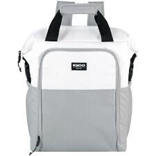 Igloo Seadrift 30-Can Switch Backpack - White/Gray