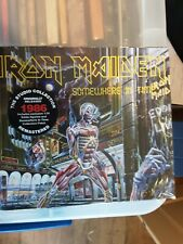 Iron Maiden - Somewhere In Time (CD/Collectors Patch/1:24 Scale Figurine) New