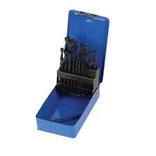Coffret 19 forets metaux HSS-R acier rapide diametre 1-10mm