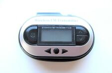 Wireless LCD FM Transmitter Stereo Car Radio for MP3 Player iPod Touch Pre Owned
